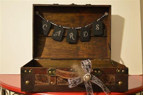 Great Gatsby Card Box Great Gatsby card trunk by
