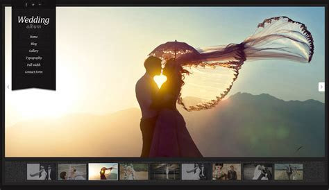 Wordpress Themes   Wedding Album