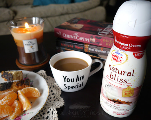Happy moments with Coffee-mate Natural Bliss Cinnamon Cream #Giveaway