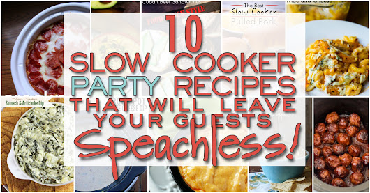 10 Super Bowl Party Crockpot Recipes! - Lauren Greutman