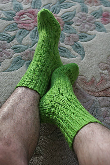 Lime Socks