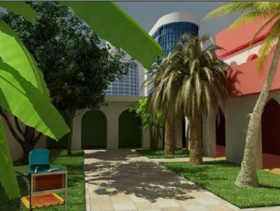 Blerick Tree farm 3D Garden