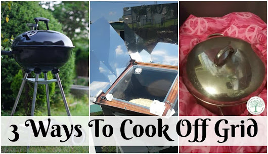 off grid cooking appliances