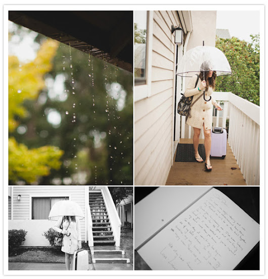 Rainy California barn wedding: Danielle + Linus | Real Weddings | 100 Layer Cake