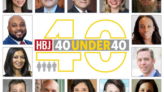 Houston Business Journal's 40 Under 40 Class of 2016 honorees revealed - Houston Business Journal