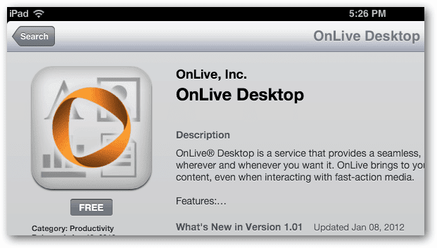 install onlive