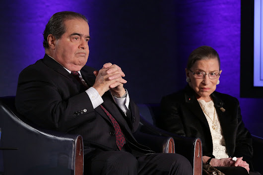 What made the friendship between Scalia and Ginsburg work