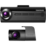 THINKWARE - F200D Front and Rear Camera Dash Cam - Gray/Black