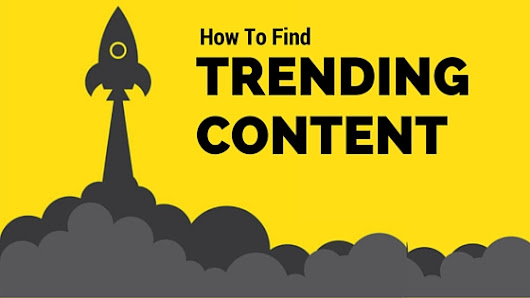 5 Places To Find Trending Content - Convert With Content