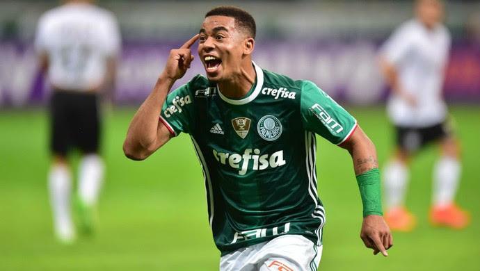 Gabriel Jesus Palmeiras x Figueirense (Foto: Marcos Ribolli)