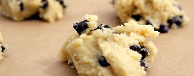 Close up of Chocolate Chip Cookie Dough IMAGE: © Stella/fstop/Corbis