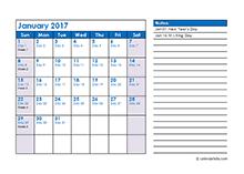 2017 Julian Calendar : Download Julian Date Calendar 2017