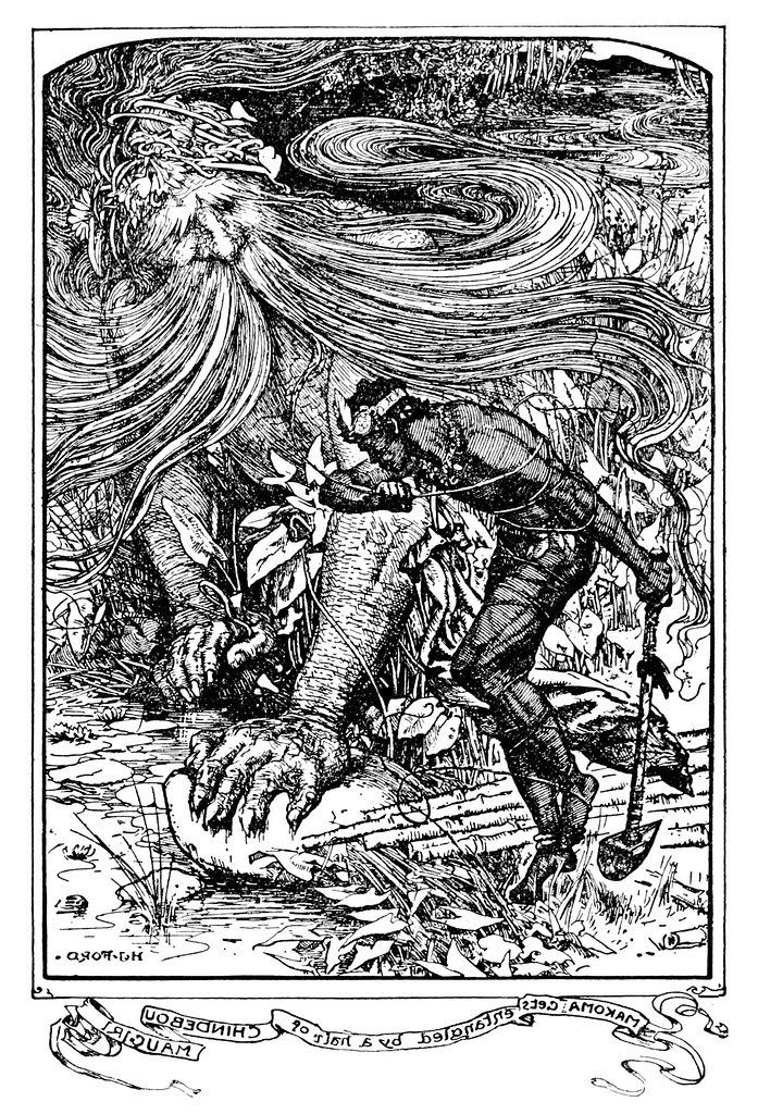 Henry Justice Ford - The orange fairy book edited by Andrew Lang , 1906 (illustration 3)