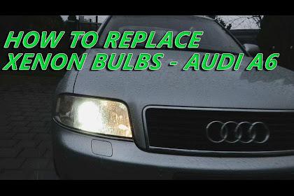 2004 Audi A6 Headlight Bulb Replacement