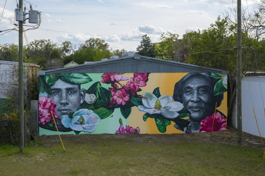 Gaia in Gainesville, Florida | street art united states
