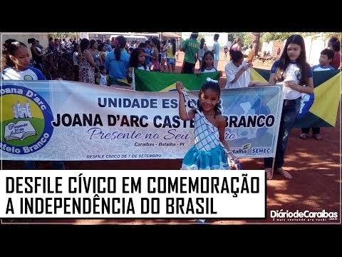 Veja o vídeo do desfile cívico da U. E. Joana D'arc