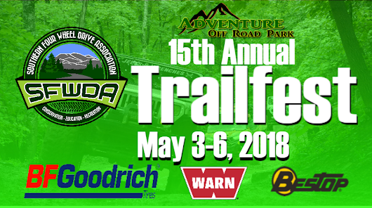 Trailfest 2018 Ticket Sales are LIVE! Save $10 through January & WIN Free WARN Winch Raffle Tickets