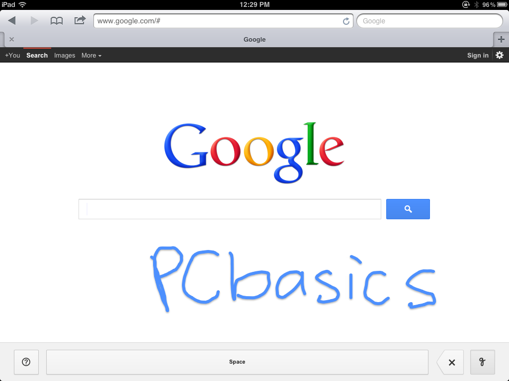 Google Handwrite Gets Upgraded