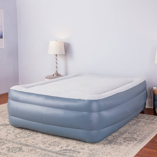 24 inch air mattress Sharper Image Premier Memory Foam 24 inch Queen size Air Bed  24 inch air mattress