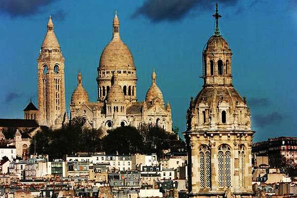 Iglesia de la Santa Trinidad y Sacre Coeur de París