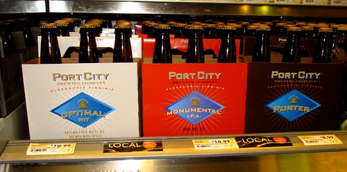 Port City beer on the shelf