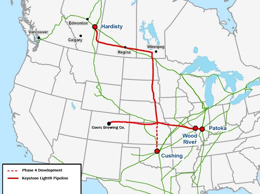 Obama Administration Approves Keystone Light Pipeline