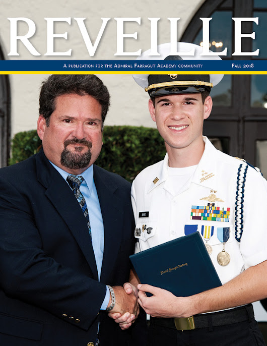 Reveille Fall 2018 edition features Farragut Family Legacies - Admiral Farragut Academy