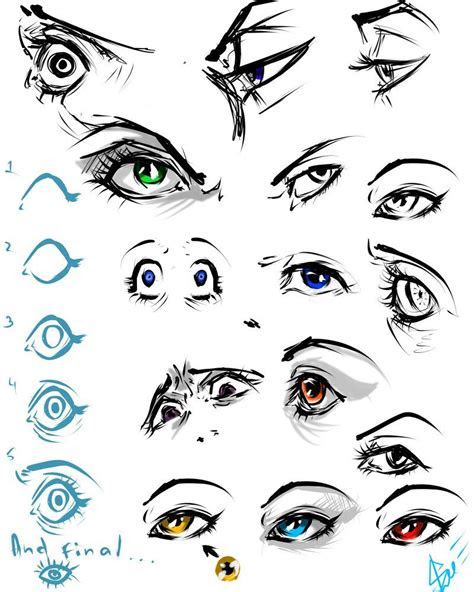 eyes practice   drawings art tutorials art