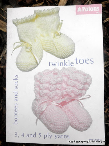 booklet, bootee