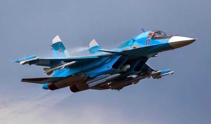 Ministério da Defesa da Rússia assina contrato para 20 caças-bombardeiros Su-34