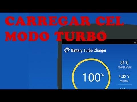 Como Carregar seu Celular Mais Rápido - Ative o Modo turbo