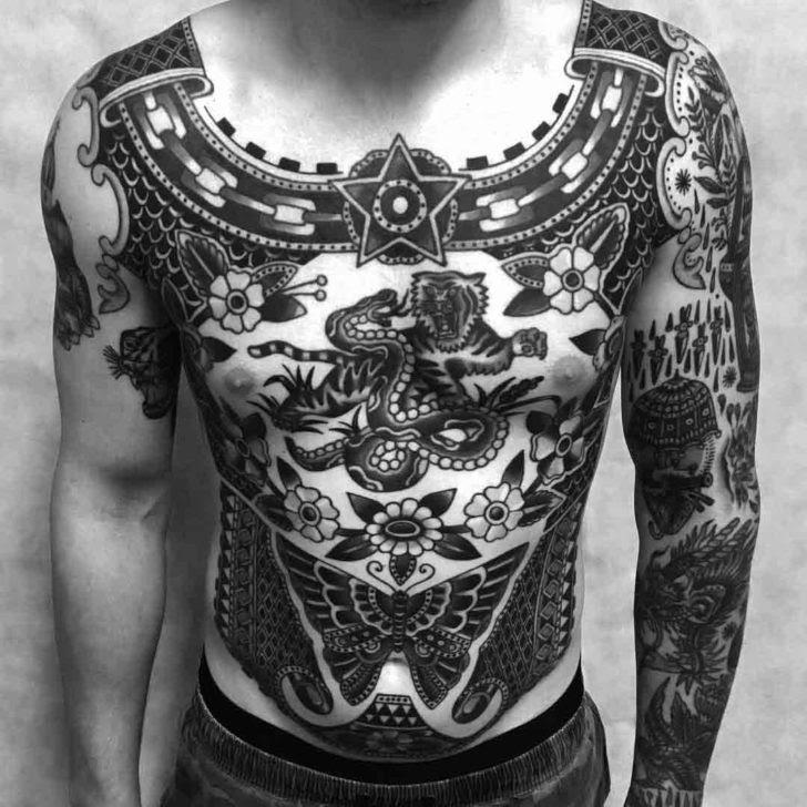 Full Body Tattoo Old School Best Tattoo Ideas Gallery