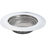 "Handy Housewares 4.25"" Durable Perforated Stainless Steel Kitchen Sink Food Trap Sink Strainer"
