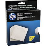 HP HPWS50RB CD/DVD Storage Sleeves (50 pk)