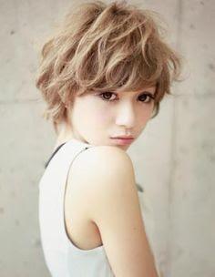 ヘアスタイル・髪型・ヘアカタログ(メニュー:パーマ  - パーマヘアスタイル ショート