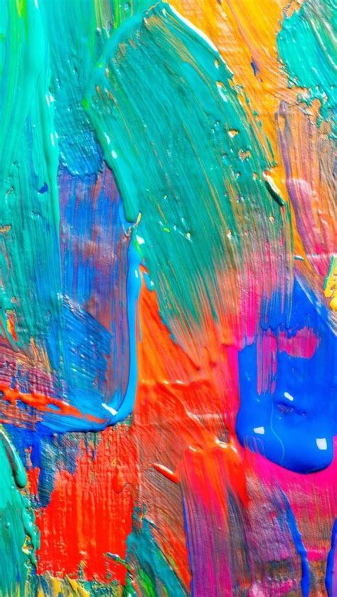 hd iphone wallpaper paintingbrush strokes wallpapers