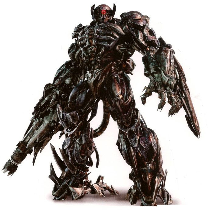 Concept artwork of Shockwave in TRANSFORMERS: DARK OF THE MOON.