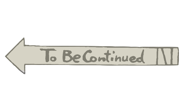 Recklessly: To Be Continued Logo Transparent