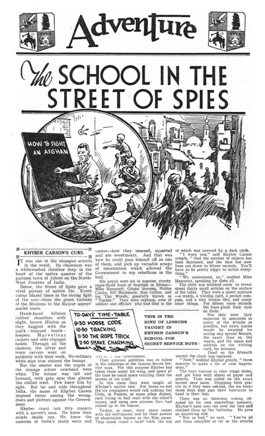 Adventure 0769 - The School in the Street of Spies