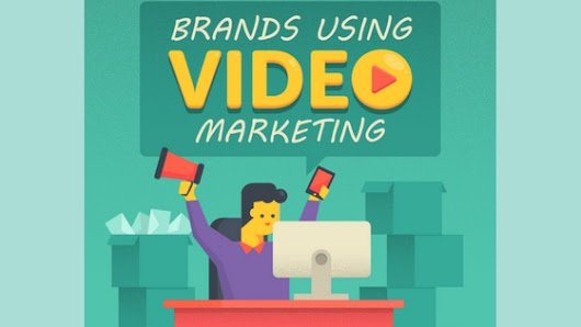 Brands Using Video Marketing - 2018 Infographic - 16best.net