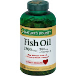 Nature's Bounty Fish Oil, 1200 mg, Softgels - 320 count