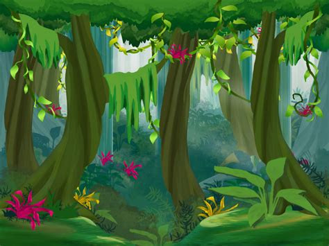 jungle bg  lafemmefatale  deviantart