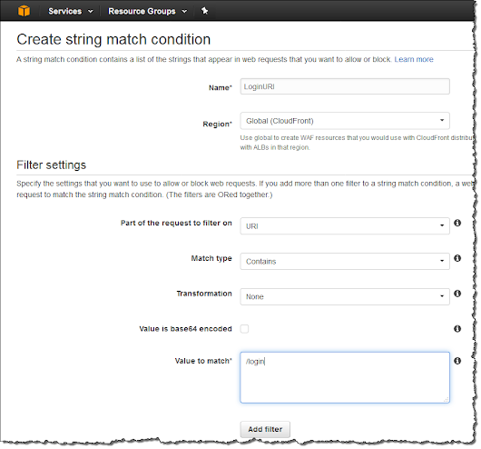 Protect Web Sites & Services Using Rate-Based Rules for AWS WAF