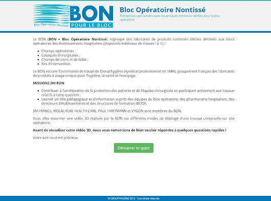 Projet BON Quiz - Pixel de Lune - Integrateur Web & Developpeur Wordpress Freelance @ Lyon