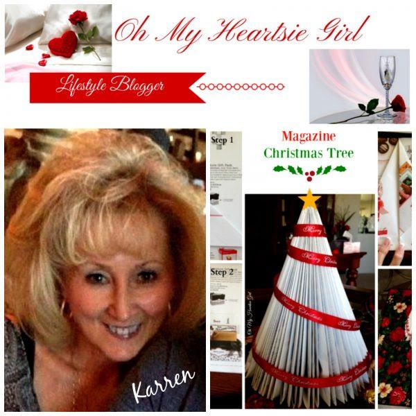 Oh My Heartsie Girl Magazine Christmas Tree