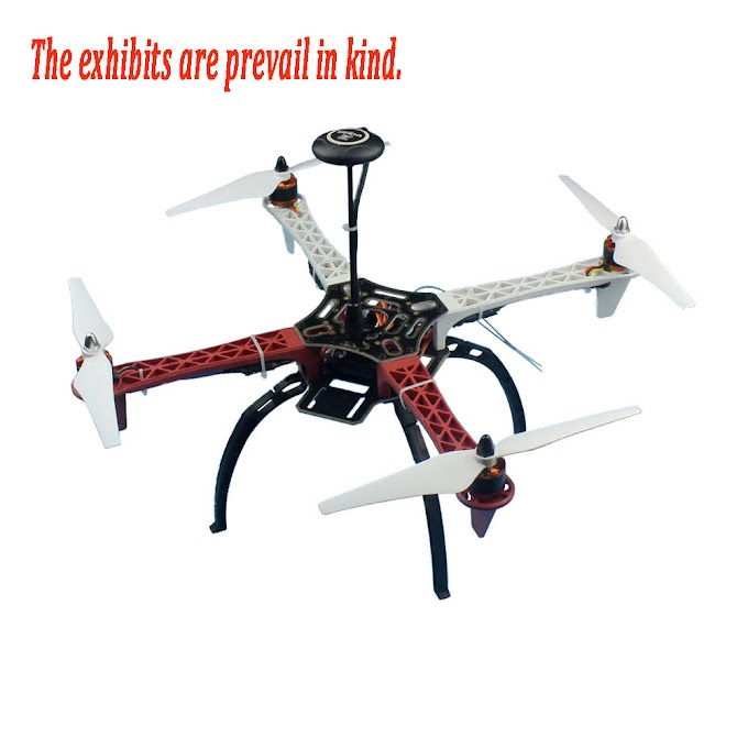 DIY GPS Drone RC Racer Quadcopter Aircraft Full Kit F450-V2 Frame APM2.8 920KV Flight Control Flysky FS-i6 Transmitter Battery
