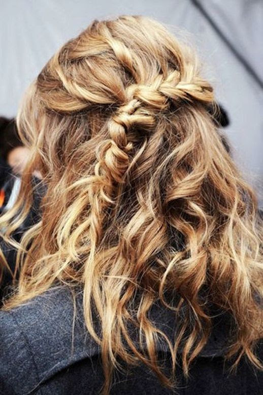 Le Fashion Blog -- 30 Inspiring Fishtail Braids -- Half Up Braid Short Hair Style -- Via Vogue Germany -- photo 19-Le-Fashion-Blog-30-Inspiring-Fishtail-Braids-Half-Up-Braid-Short-Hair-Style-Via-Vogue-Germany.jpg