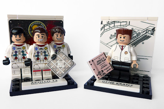 Apollo 13 custom LEGO minifigures mark mission's 45th anniversary | collectSPACE
