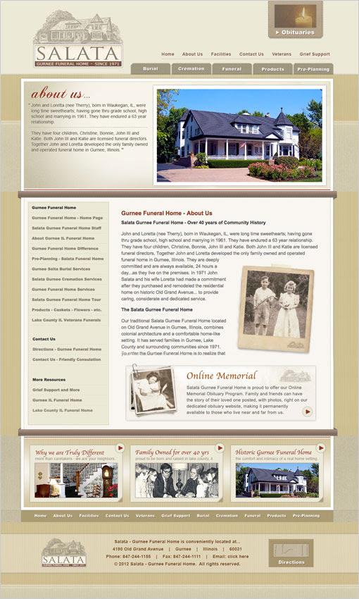 Funeral Home Web Design Funeral Website Design
