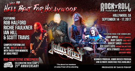 Judas Priest | Rock and Roll Fantasy Camp | Music Events Los Angeles | Hollywood, CA